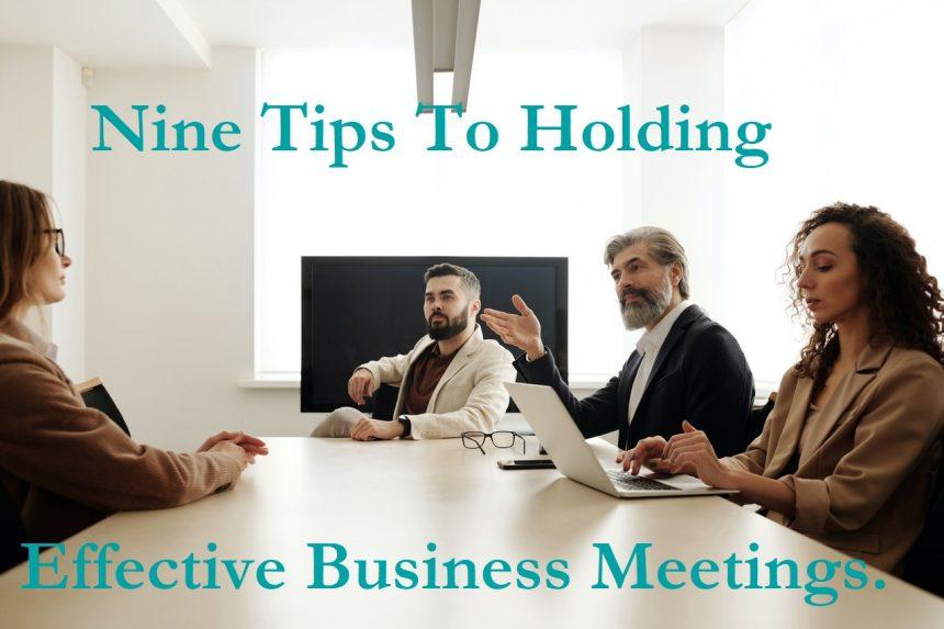 Effective Business Meetings